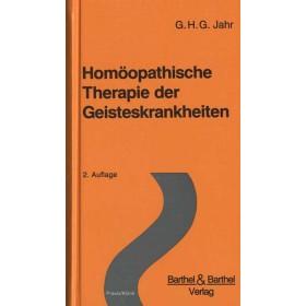Jahr Georg Heinrich Gottlieb  Homöopathische Therapie der Geisteskrankheiten