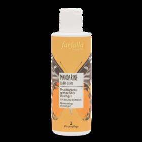 farfalla Mandarine Carpe Diem, Feuchtigkeitsspendendes Duschgel 200ml