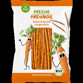 Freche Freunde Laugensticks Karotte 75g (6er Pack)