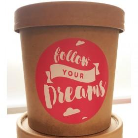 Hafer Milchbad Lavendel - Follow your Dreams - veganes Milchbad