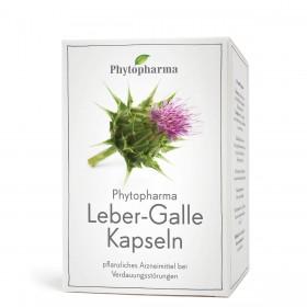 Phytopharma Leber Galle 80 Kaps