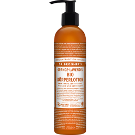 Dr. Bronner's Bio Körperlotion Orange-Lavendel 240ml
