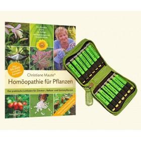 Maute Homöopathie für Pflanzen 48er Komplett - Set & Buch Maute Homöopathie bei Pflanzen