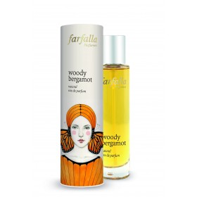 farfalla Woody Bergamot natural eau de parfum 50ml