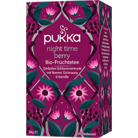Pukka Night Time Berry Bio-Früchtetee 20 Teebeutel