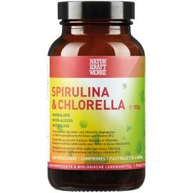 Naturkraftwerke Spirulina & Chlorella 250 Presslinge à 400 mg